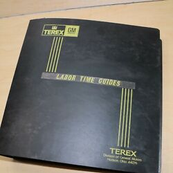 Terex Shop Labor Time Guide Manual Crawler Tractor Dozer Service Repair Book Ltg