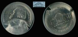 1995-p 5c Pcgs Ms66 And Ms65 Mated Pair Jefferson Nickel Mint Error