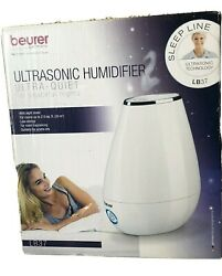 Beurer Germany Ultrasonic Humidifier Ultra Quiet Lb37 W/night Mode New In Box