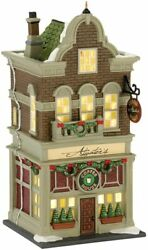 Dept 56 Christmas In The City Atwaterand039s Coffe House 4025245 Dealer Stock-new