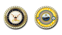 Uss Gerald R. Ford Cvn-78 Challenge Coin Us Navy Officially Licensed