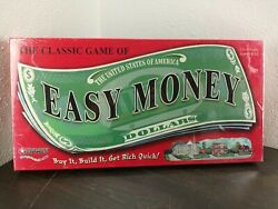 Classic Easy Money Board Game 2005 Sealed