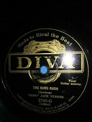 78 Diva 2740 G quot;Hoboquot; Jack Turner The Bowery Bums The Bums Rush Pre War Country $23.00
