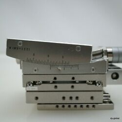 70size Xy Axis Stage With Wd122 Gonio Tilting Stage U14848/assy Sta-i-427=5g21
