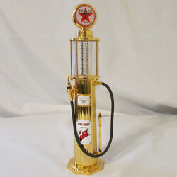 Gearbox Limited Edition Texaco 1920 Wayne Gas Pump Mechanical Coin Bank 24kt