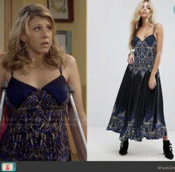 Free People Be My Baby Maxi Dress In Size As Seen On Tv