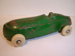 The Sun Rubber Co Toy Race Car Green Vintage Toys