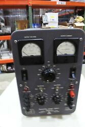 Antique Lambda Regulated Power Supply 50s In Their 0 - 500v 200ma Model 71