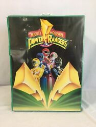 Vintage Mighty Morphin Power Rangers Storage Case/ Lunch Box / Gaming Case