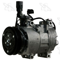 A/c Compressor And Clutch- New Four Seasons 198335