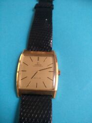 Rare 18k Solid Gold Omega Cal 711 Ref 151.010 Wristwatch _980