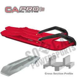 Canda Pro Xcs Snowmobile Skis Red Arctic Cat Zr 500 Cross Country 2002
