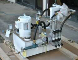 Bearing Lubrication Lube Cooling Skid System, Electro-hydraulic Automation New