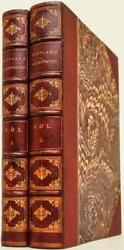 1842 Scotland Illustrated Leather Bound By Brentanos 11 Tall Great Condition
