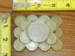 Vintage Silver Dollar And Indian Head Nickels Belt Buckle Hand Crafted