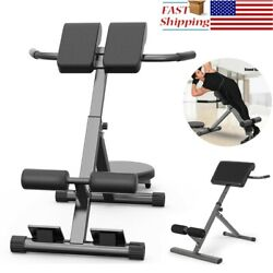 Exercise Roman Chair 45 Degree Ab/hyper Back Bench Adjustable Extension Back Wf