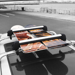 Car Rack And Carrier Ski Rack Fits 4 Pairs Skis Snowboard Rack Fits 2 Snowboards