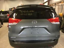 2011-2014 Toyota Sienna Trunk/hatch/tailgate Le W/back Up Camera 2241137