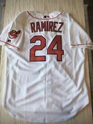 Manny Ramirez Cleveland Indians Russell Athletic Authentic Jersey Size 48 Nwt