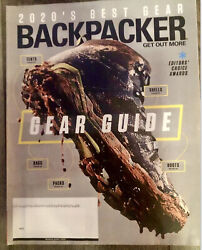 Backpacker Magazine March April 2020 Gear Guide Packs Boots Bags Shells Tent NEW $6.50