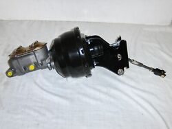 1967-72 Chevy Truck 8 Power Brake Booster + 1 Bore Master Cylinder And Bracket