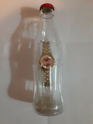 Coca Cola Watch In A Bottle, Vintage 2002, Collector's Item