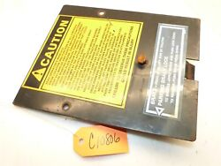 Case/ingersoll 220 224 444 446 448 222 Tractor Dash Access Panel