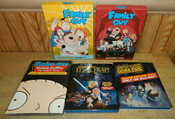Family Guy Dvd Sets Blu-ray Discs Untold Story It's A Trap Darkside More