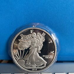2018 5oz Silver Walking Liberty Coin