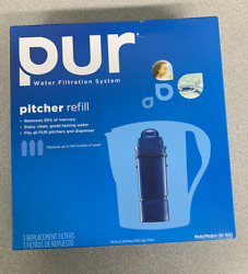 New Pur Water Filtration System Pitcher Refill Crf-950z 3 Replacement Filter