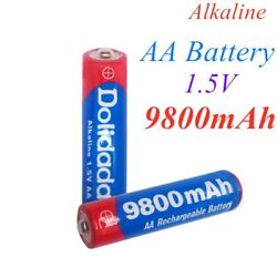 9800mah 1.5v Aa Battery Alkaline Rechargeable For Led Light Toy Mp3 Quality Kit