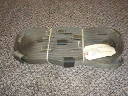 Nos Brand New 20 Foot Military Tow Strap Multi Loop 44500 Lbs Pull