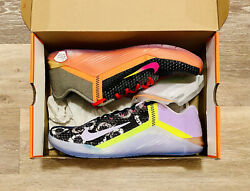 Nike Metcon 6 X And039what Theand039 Edition Training Shoes Ck9389-706 Womens 11 Mens 9.5