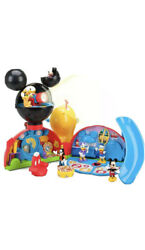 Disney Exclusive Mickey's Clubhouse With Mickey Minnie Donald Daisy Goofy Pluto