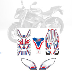 3d Gel Complete Fairing Fuel Tank Pad Decal Sticker For Bmw S1000r 2014-2015