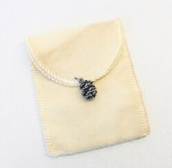 James Avery Sterling Silver 3d Pine Cone Pinecone Charm/pendant Retired