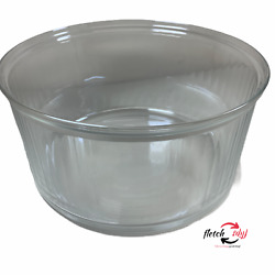 Galloping Gourmet Convection Oven Ax-707a Replacement Glass Bowl No Chips Cracks