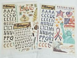 New Lot Pathways Themed Stickers Alphabet Lettersyou Choose Americana Or Love-f