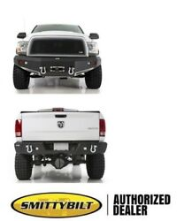 Smittybilt M1 Winch Mount Front And Rear Bumper 612800 2006-2009 For Ram 2500 3500