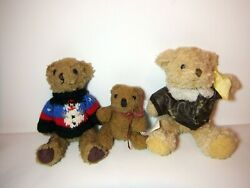 Teddy Bears Plushes Collectible Items In Good Shape Sold In Bundle