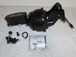 1967-72 Chevy Truck 8 Power Brake Booster + Wilwood Master Cylinder And Valve Kit