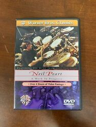 Neil Peart - A Work In Progress Dvd 2002 Warner Bros With Booklets