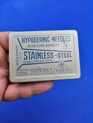Vintage Injection Needles From The Ddr Germany Hypodermic-needle Injecta 1947