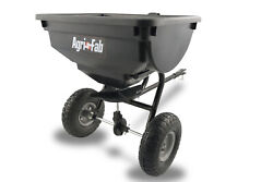 85 Lb Broadcast Pull Tow-behind Spreader Tractor Lawn Seed Fertilizer Hopper Atv