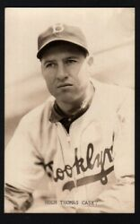Original Vintage Hugh Casey Real Photo Post Card By Norm Paulson Dodgers
