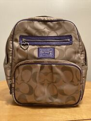 Coach Backpack Large Pre Owned $50.00
