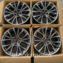 21 New Gray Style Wheels Rims Fits For 2008-2014 Bmw 7 Series F01 02 03 04 817