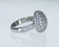 2.47ctw Natural Fire Diamond Ball Ring Diamond Engagement Ring Earth Gia