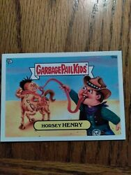 2013 Garbage Pail Kids Horsey Henry 184a Brand New Series 3 Gpk Great Condition