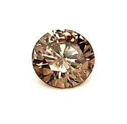 1.24ct Round Brilliant Diamond Fancy Brown C3 Color Natural Watch Video